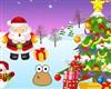 Pou decorated Christmas