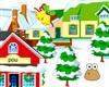 Pou decorated winter