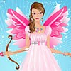 Graceful Valentine Angel Dress Up