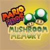 Mario Bros Mushroom Memory