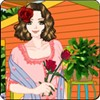 Women and Flowers A Free Dress-Up Game