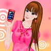 Iphone Addict Woman