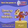 Dress up crazy monkey