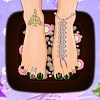 Christmas Time Pedicure A Free Customize Game