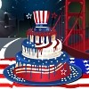 4th of July Cake Maker A Free Customize Game