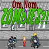 Om Nom Zombies A Free Shooting Game