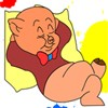 Porky Pig Color