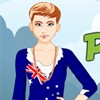 Peppy Patriotic Australia Girl A Free Dress-Up Game