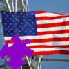 American Flag Jigsaw