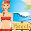 Alisha goes to Beach