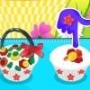 Flower Basket Cupcake