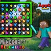 Minecraft Bejeweled A Free Puzzles Game