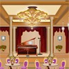 Remodel this cute model of a ballroom. Drag and drop the various Furniture, accessories, and decorations into your room to remodel and make it look the best.