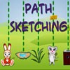 Path Stretching A Free Action Game