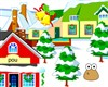 Pou decorated winter A Free Puzzles Game