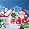 Santa Christmas Party A Free Puzzles Game
