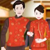 Japanese Wedding Couple A Free Dress-Up Game