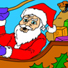Santa Claus - Coloring Game A Free Dress-Up Game
