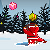 Help Santa to catch all falling presents. Take care of falling reindeers and iceholes on the ground.