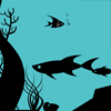 black fish 2 (fish) A Free Action Game