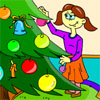 Christmas Coloring Game A Free Dress-Up Game