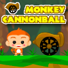 Monkey Cannonball A Free Action Game