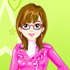 Dress up Bliinky with cool clothes and accessories and get her ready to attend New Year Eve Party.