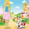 Barbie And Her Cute Dog A Free Dress-Up Game