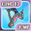 Play Love to jump