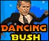 President Bush struts his stuff on the dance floor as he gets down and boogies.