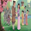 Coloring Mulan A Free Dress-Up Game