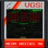 Neon Bricks 4K A Free Action Game