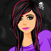 Play Emo dressup game