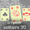 Tri Peak Solitaire 3D A Free Cards Game