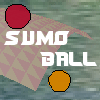 "Sumo Ball is a 3D ring elimination game. You play against the computer trying to knock your opponent out of different 3D rings. Different levels include ""Hill"" and ""Waves"". The first player to score 10 K/Os wins."