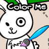 Choose a color and fill in the character and background to your liking. You can also add flowers and butterflies to the picture as well. Have Fun!