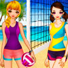 Volleyball Girls A Free Customize Game
