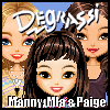 Degrassi Style Dressup - Manny, Mia & Paige A Free Dress-Up Game