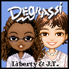 Degrassi Style Dressup - Liberty & J.T. A Free Dress-Up Game