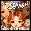 Degrassi Style Dressup - Ellie, Emma & Hazel A Free Dress-Up Game