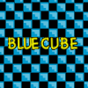 Blue Cube Game A Free Action Game