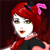 Vampire Christina dressup game, They`re lovers, living in the world for a thousand years. Eternal lives, eternal love.