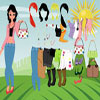 Summer Girl Dress Up A Free Dress-Up Game