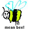 Mean Bee! A Free Action Game