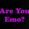 Are You Emo - Quiz