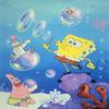 Sponge Bob Blowing Bubbles Jigsaw Puzzle