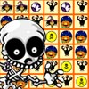Earn points by matching 3 or more Halloween images in a row, straight or across. Good Luck And Have Fun. Happy Halloween