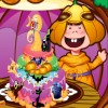 This adorable pumpkin boy is trying hard to make a big yummy cake for Halloween`s Day. But he is kind of inexpert on this, so please help him decorate this cake with jam, sugar coat and other ornaments. The pumpkin boy can`t help having a try. WoW! It tastes great!