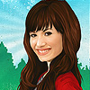 Make Up Demi A Free Customize Game