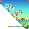 Fun Snowboard Game with cute and fun character and 3 different snowboard trick